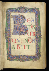 Psalm 1, The Arundel Psalter